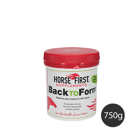 Back to Form 750g Horse Supplement